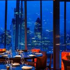 Oblix Restaurant - The Shard, London Copyright - Richard Southall/Ilona Zielinska