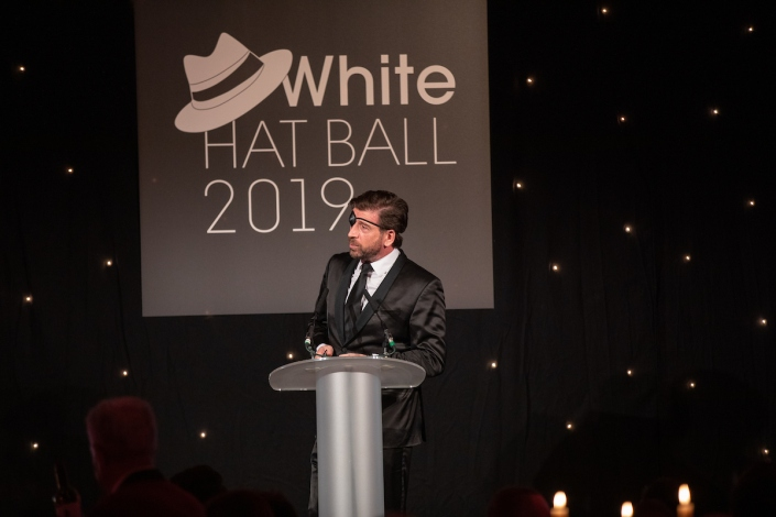 White Hat Ball