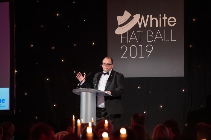 White Hat Ball