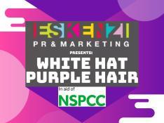 Eskenzi PR purple hair